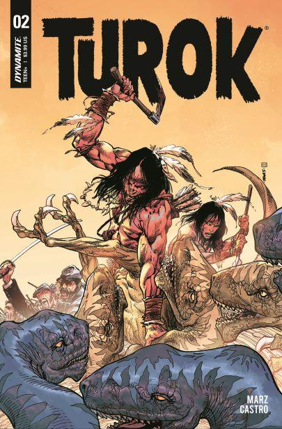 Turok Vol 3 #2 Cover A Regular Bart Sears Cover