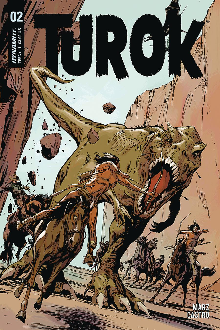 Turok Vol 3 #2 Cover B Variant Butch Guice Cover