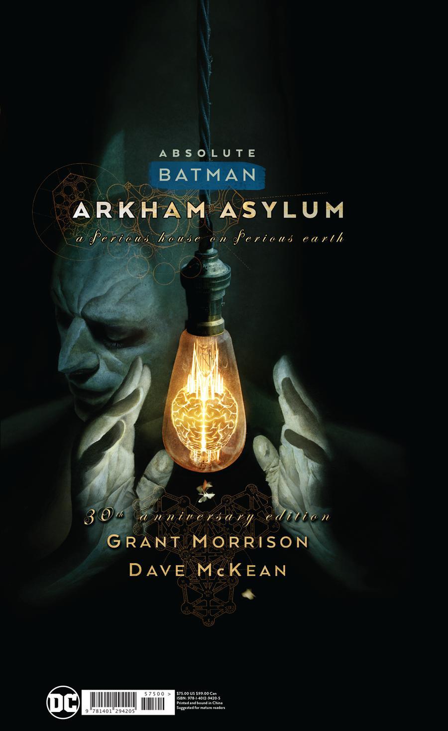 Absolute Batman Arkham Asylum 30th Anniversary Edition HC