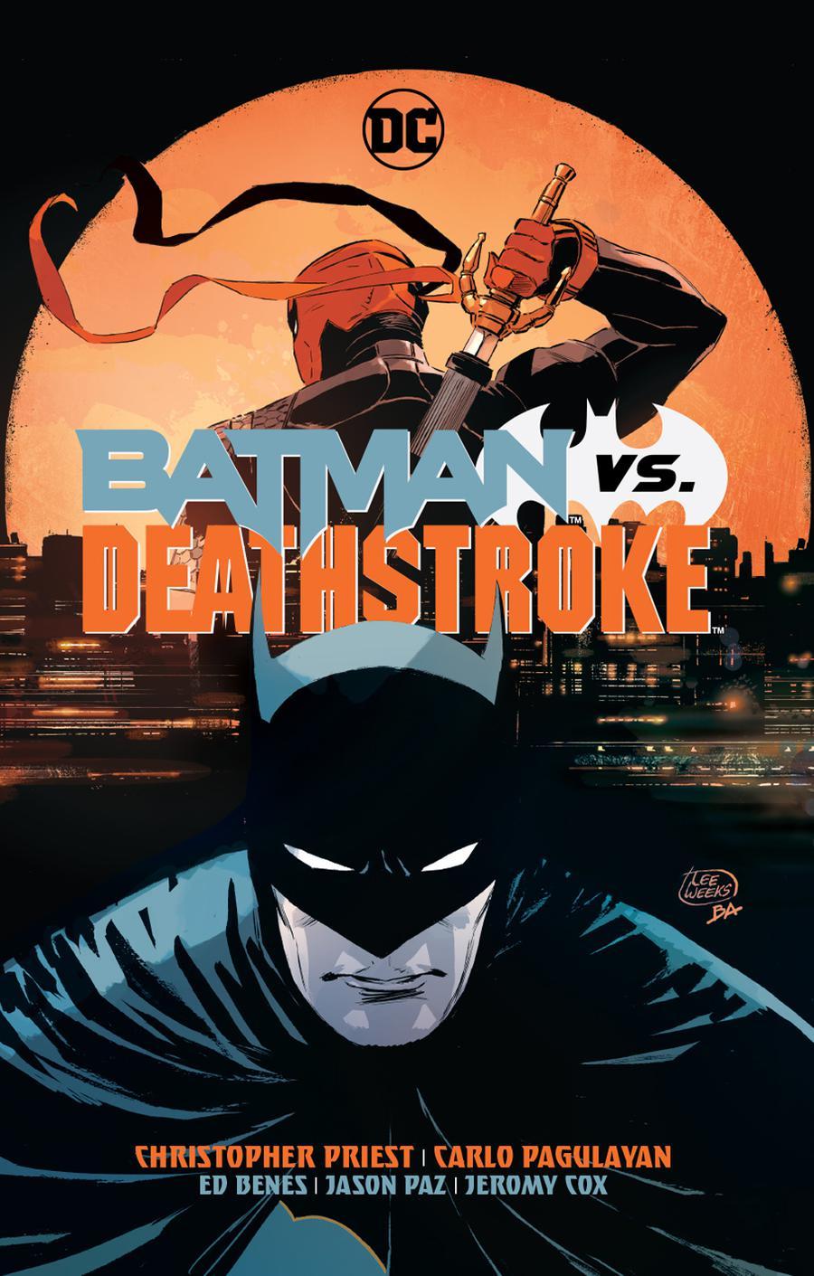 Batman vs Deathstroke HC (Rebirth)