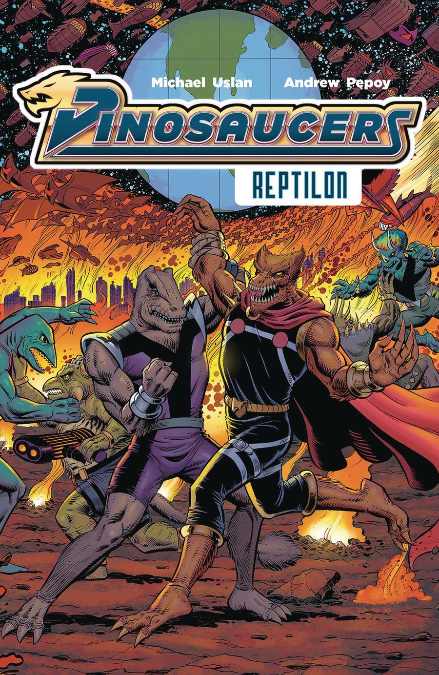 Dinosaucers Vol 1 Reptilon TP