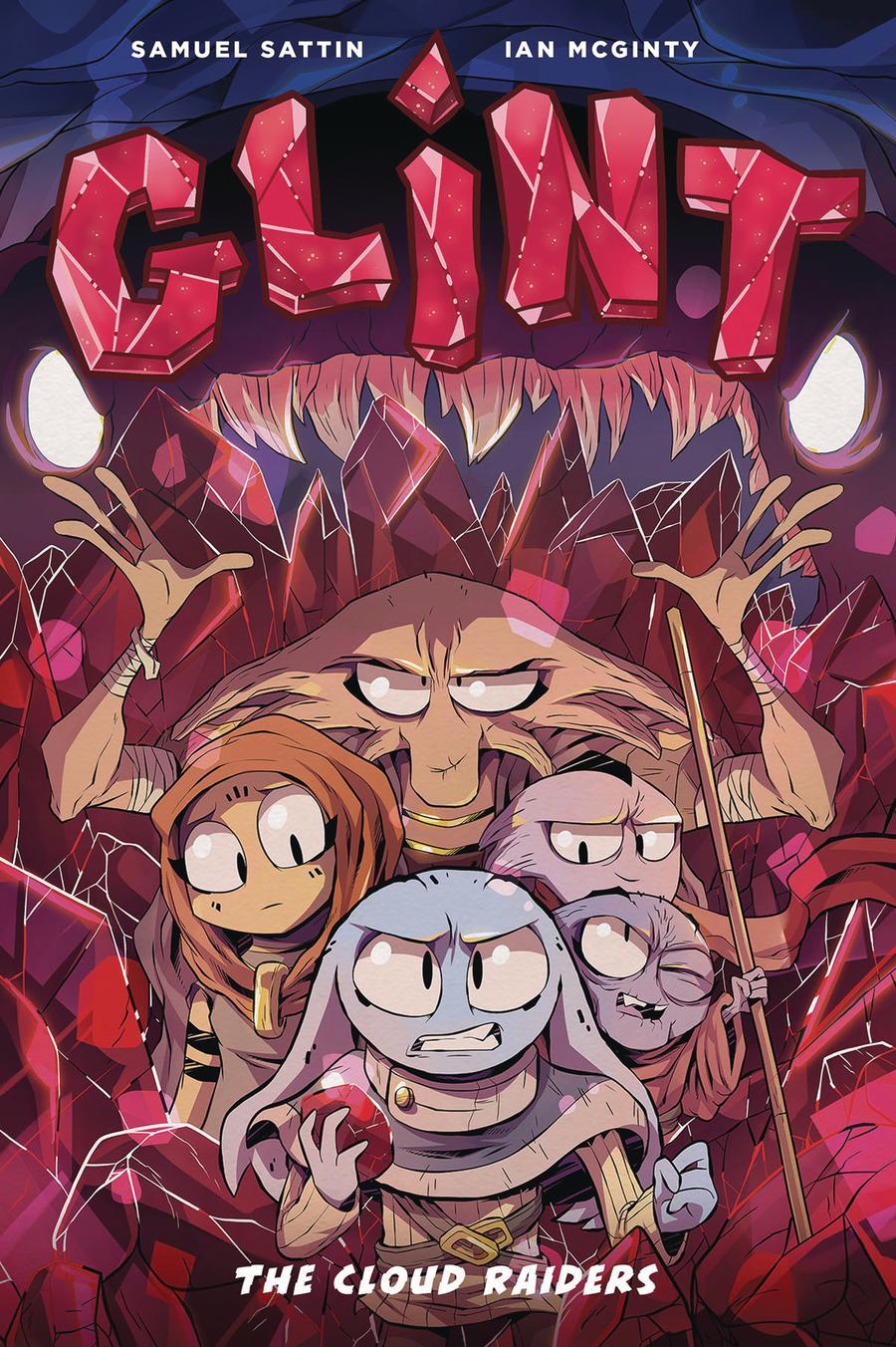 Glint Book 1 Cloud Raiders GN