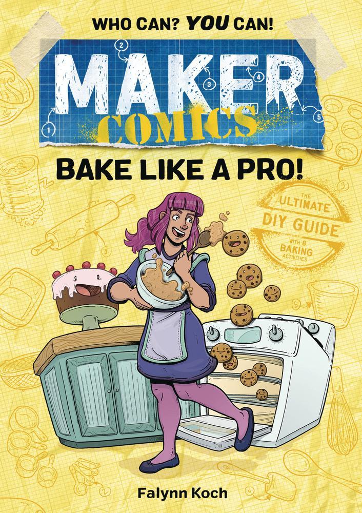 Maker Comics Bake Like A Pro HC
