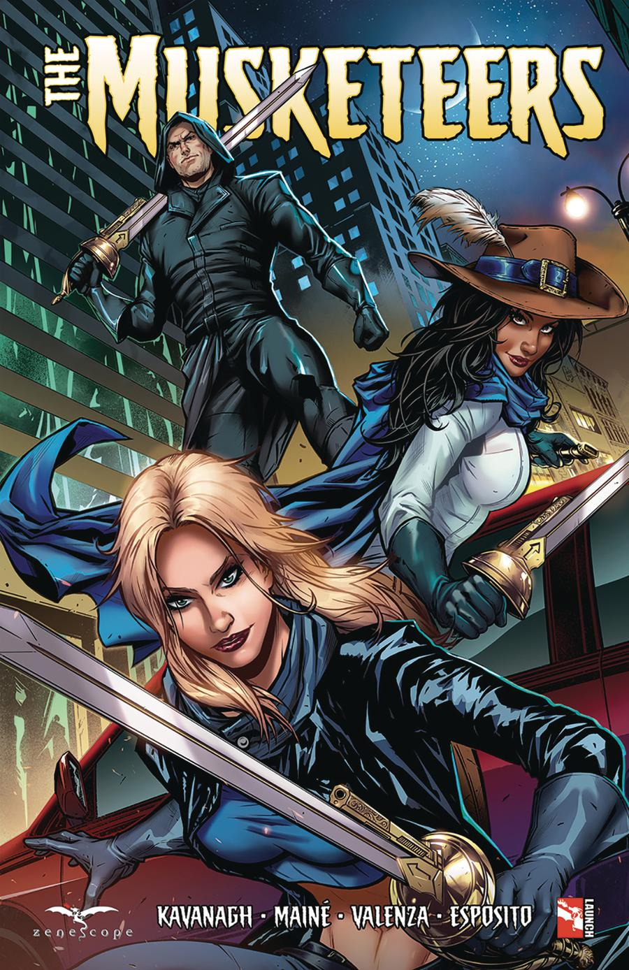 Grimm Fairy Tales Presents Musketeers TP