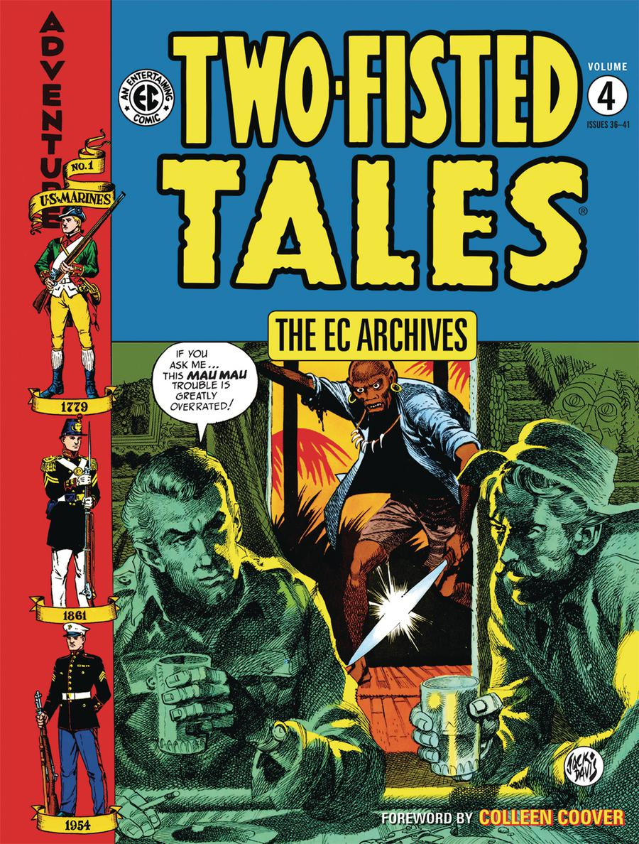 EC Archives Two-Fisted Tales Vol 4 HC