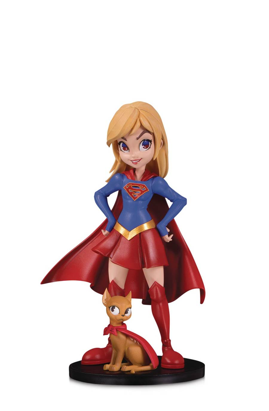 DC Artists Alley Designer Vinyl Figure By Chrissie Zullo - Supergirl Color Version