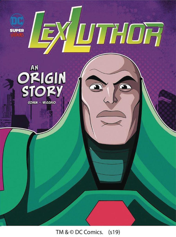 DC Super Villains Lex Luthor An Origin Story TP