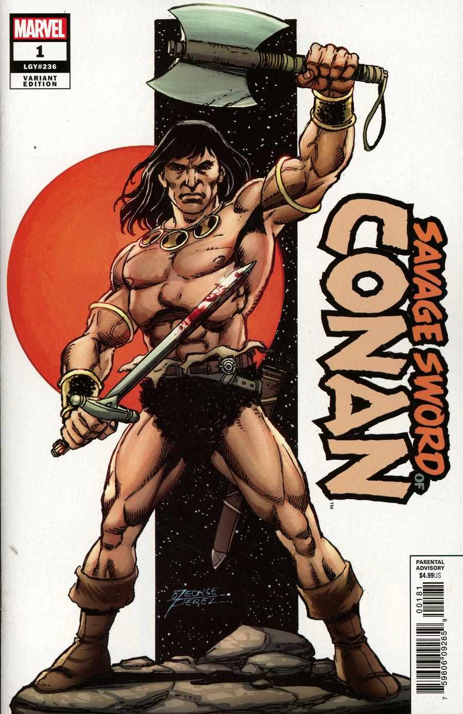 Savage Sword Of Conan #1 Cover B Variant George Perez Cover