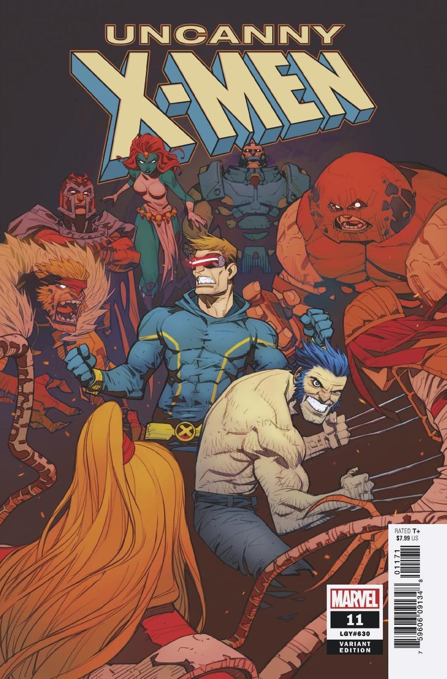 Uncanny X-Men Vol 5 #11 Cover F Variant Eduard Petrovich Cover