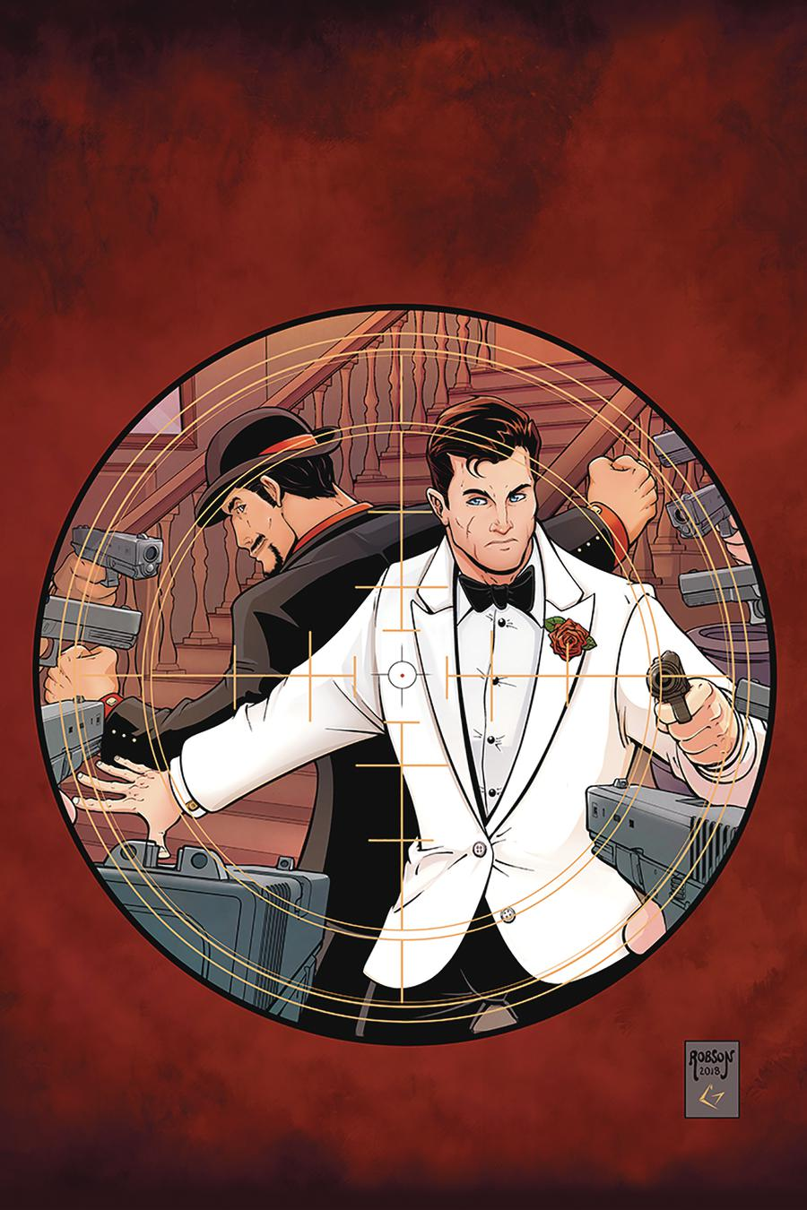 James Bond 007 #4 Cover F Incentive Will Robson Virgin Cover