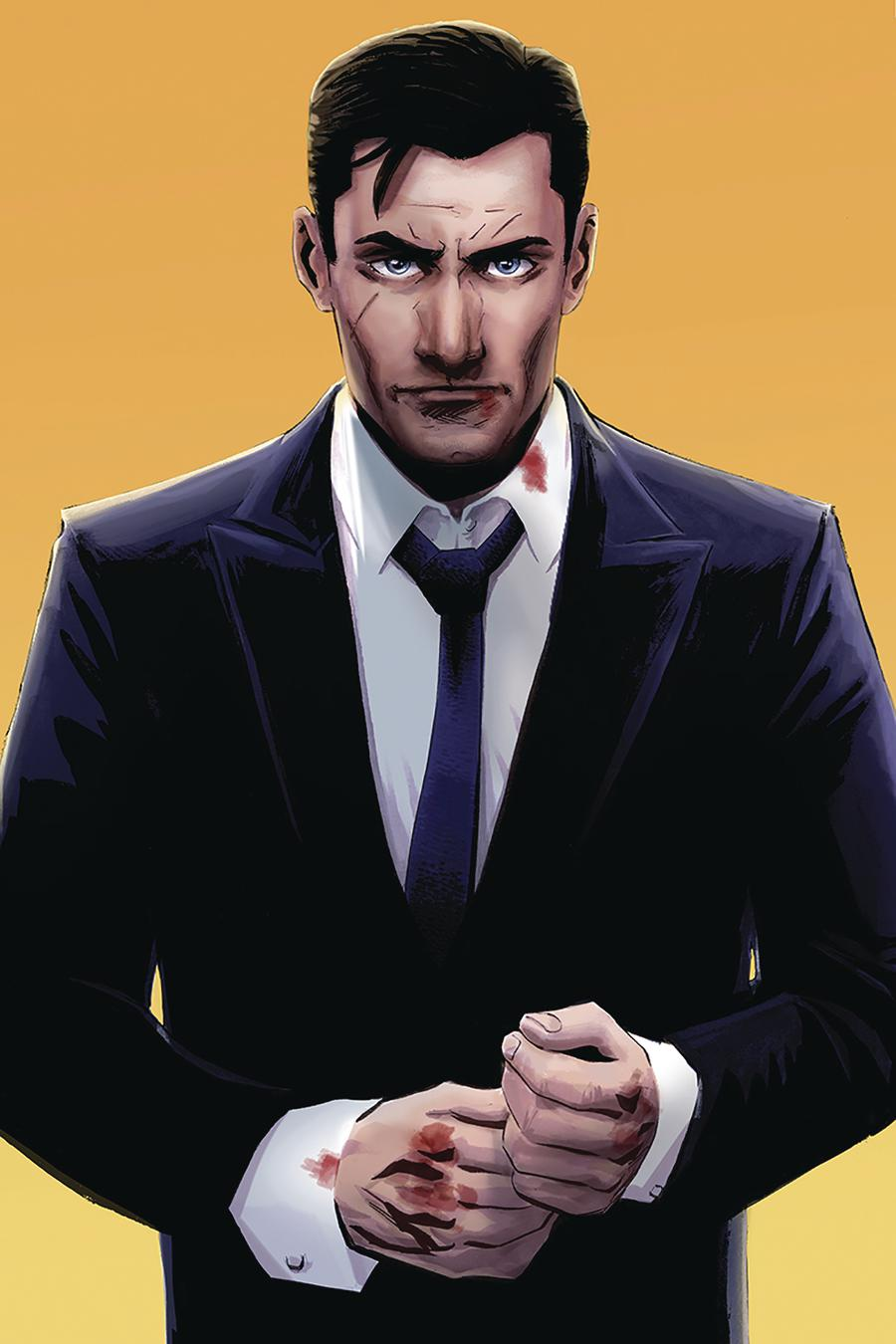 James Bond 007 #4 Cover G Incentive Ibrahim Moustafa Virgin Cover