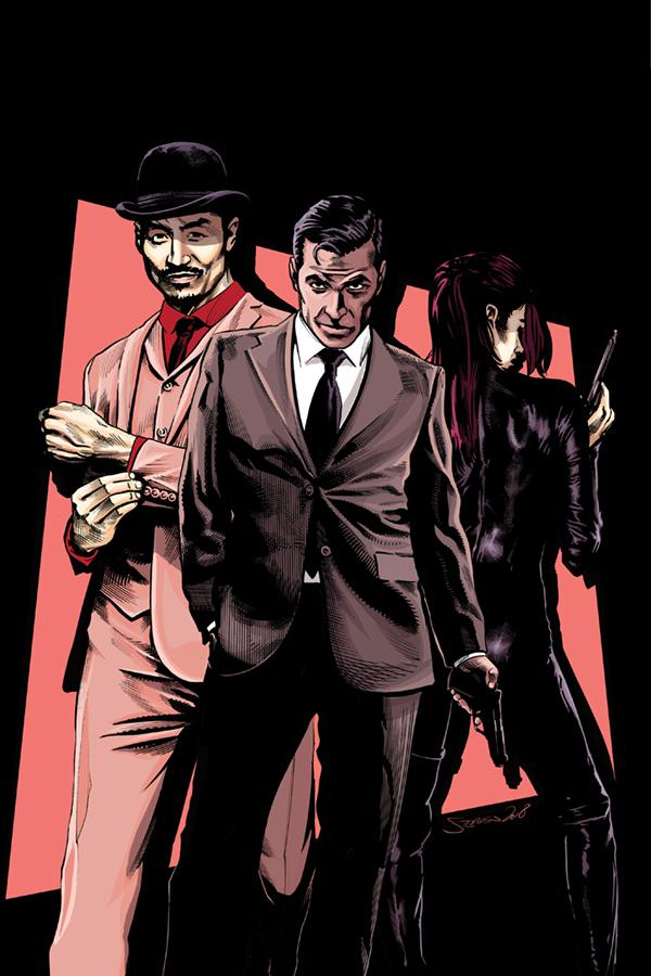 James Bond 007 #4 Cover H Incentive Stephen Mooney Virgin Cover
