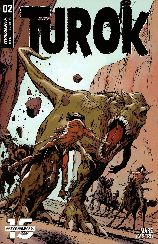 Turok Vol 3 #2 Cover F Incentive Butch Guice Virgin Cover