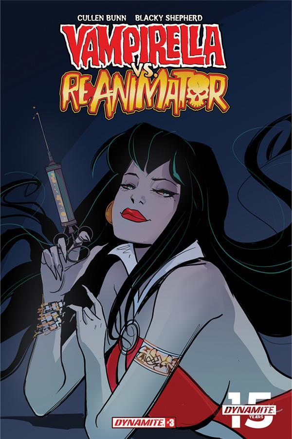 Vampirella vs Reanimator #3 Cover E Incentive Nik Virella Seduction Variant Cover