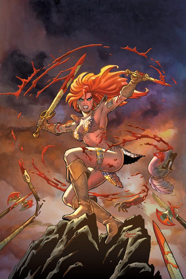 Red Sonja Vol 8 #1 Cover P Limited Amanda Conner Virgin Cover