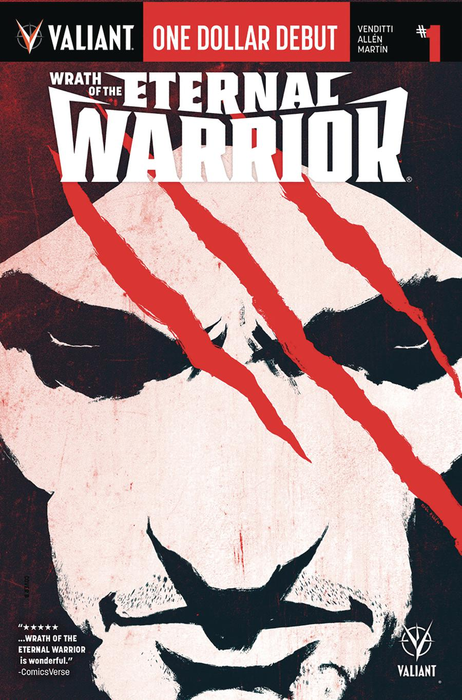 Wrath Of The Eternal Warrior #1 Cover J One Dollar Debut Edition
