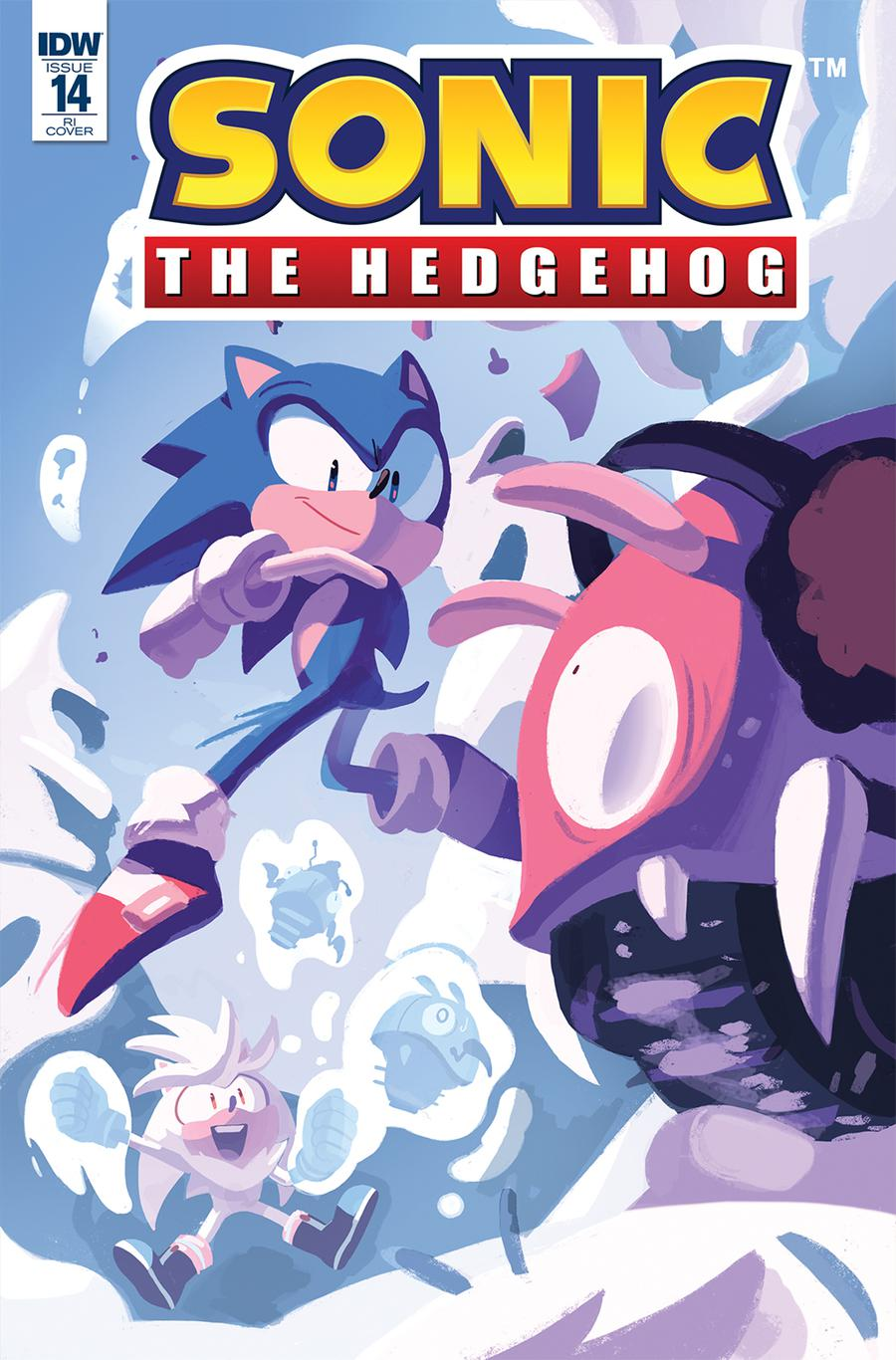 Sonic The Hedgehog Vol 3 #14 Cover C Incentive Nathalie Fourdraine Variant Cover