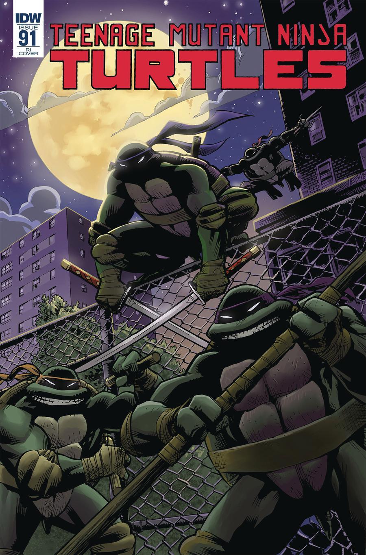 Teenage Mutant Ninja Turtles Vol 5 #91 Cover C Incentive Karl Moline Variant Cover