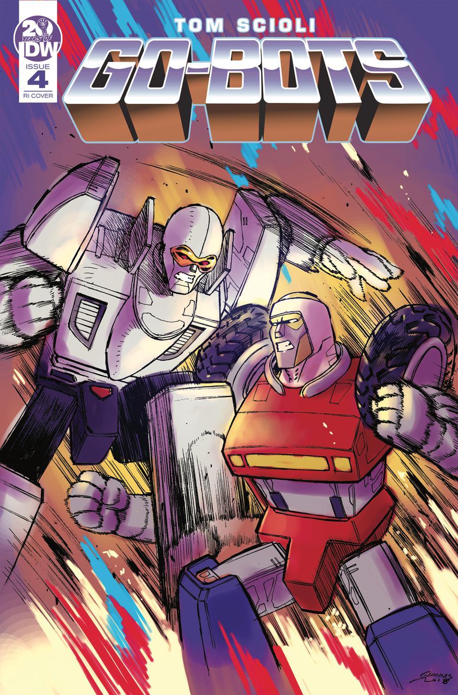 Go-Bots #4 Cover C Incentive Giannis Milonogiannis Variant Cover