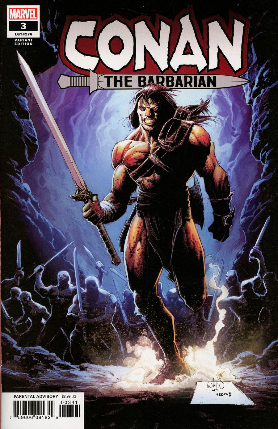 Conan The Barbarian Vol 4 #3 Cover D Incentive Whilce Portacio Variant Cover