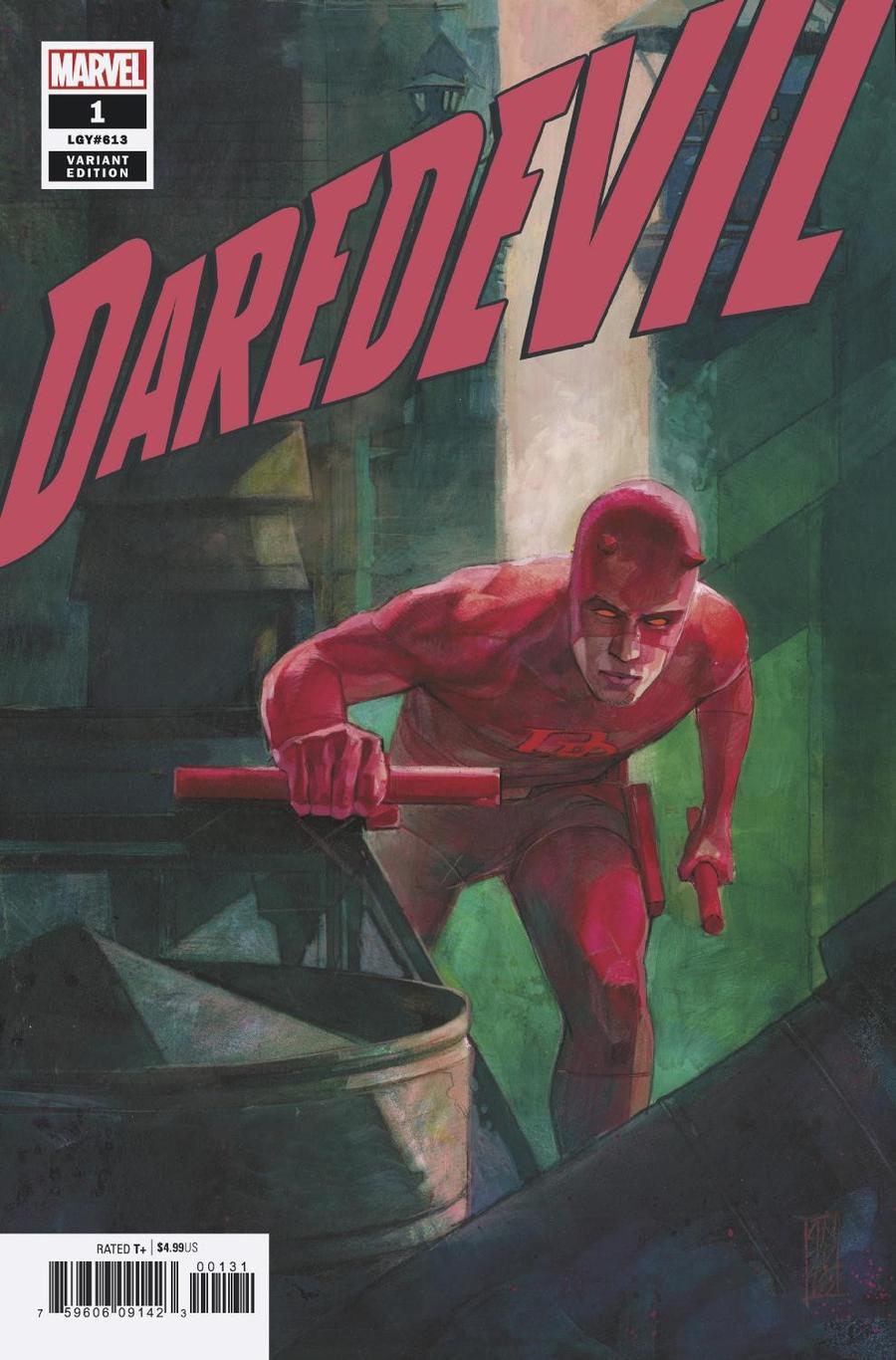 Daredevil Vol 6 #1 Cover E Incentive Alex Maleev Variant Cover