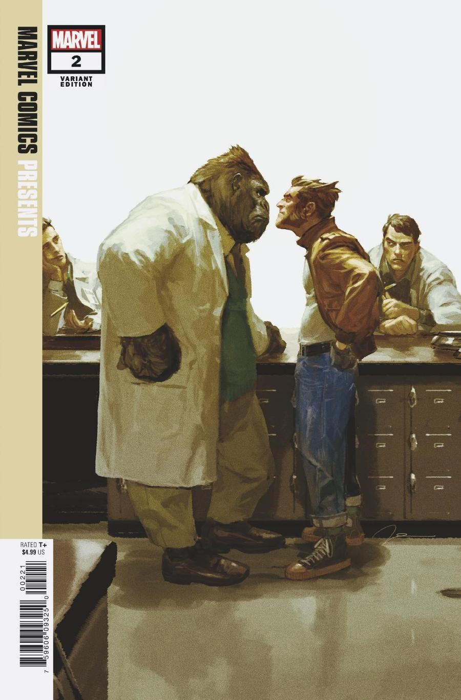Marvel Comics Presents Vol 3 #2 Cover C Incentive Gerald Parel Variant Cover