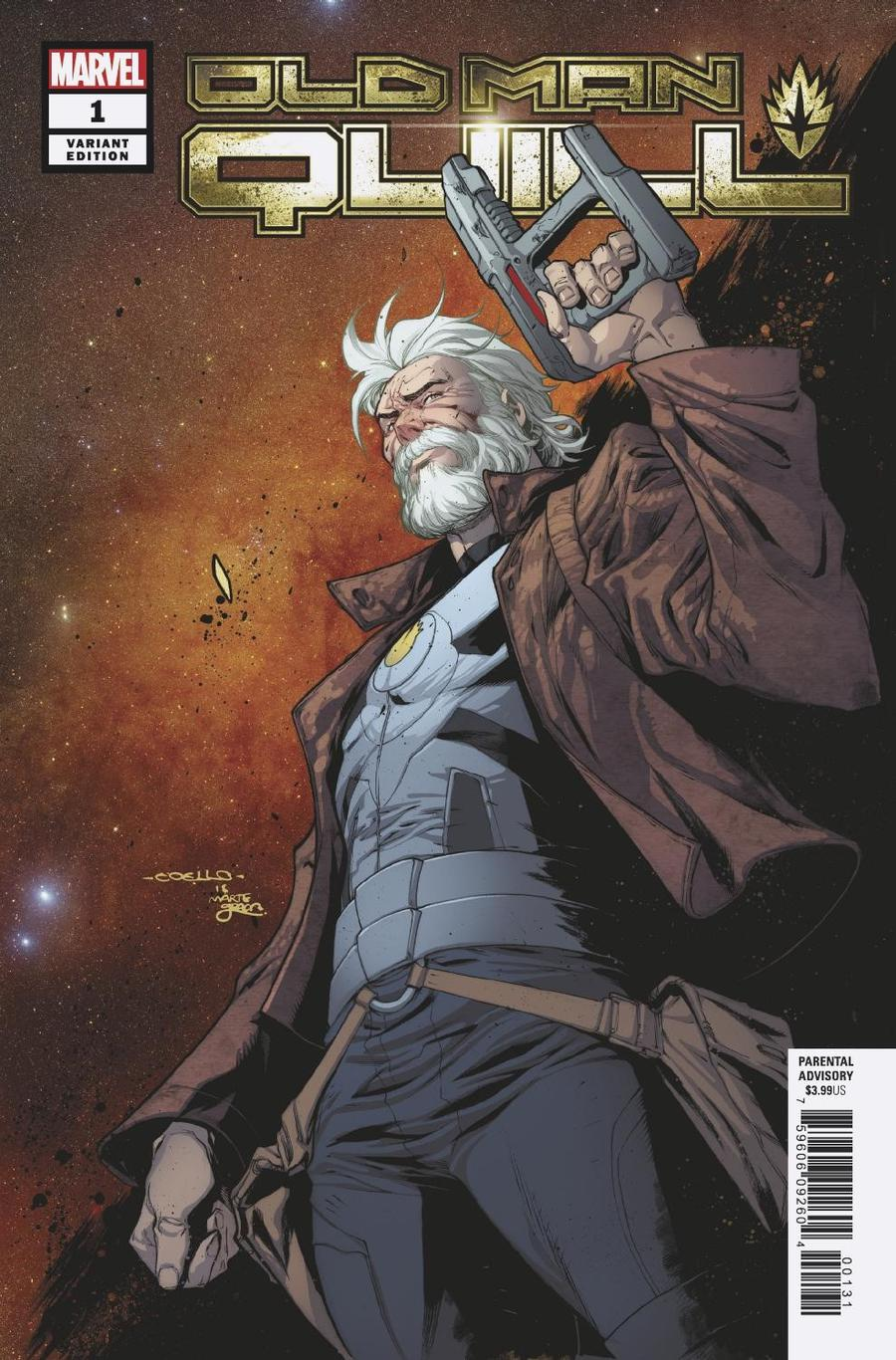 Old Man Quill #1 Cover E Incentive Iban Coello Variant Cover