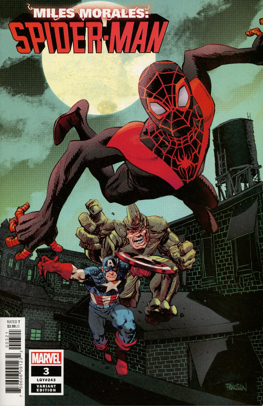 Miles Morales Spider-Man #3 Cover C Incentive Dan Panosian Variant Cover