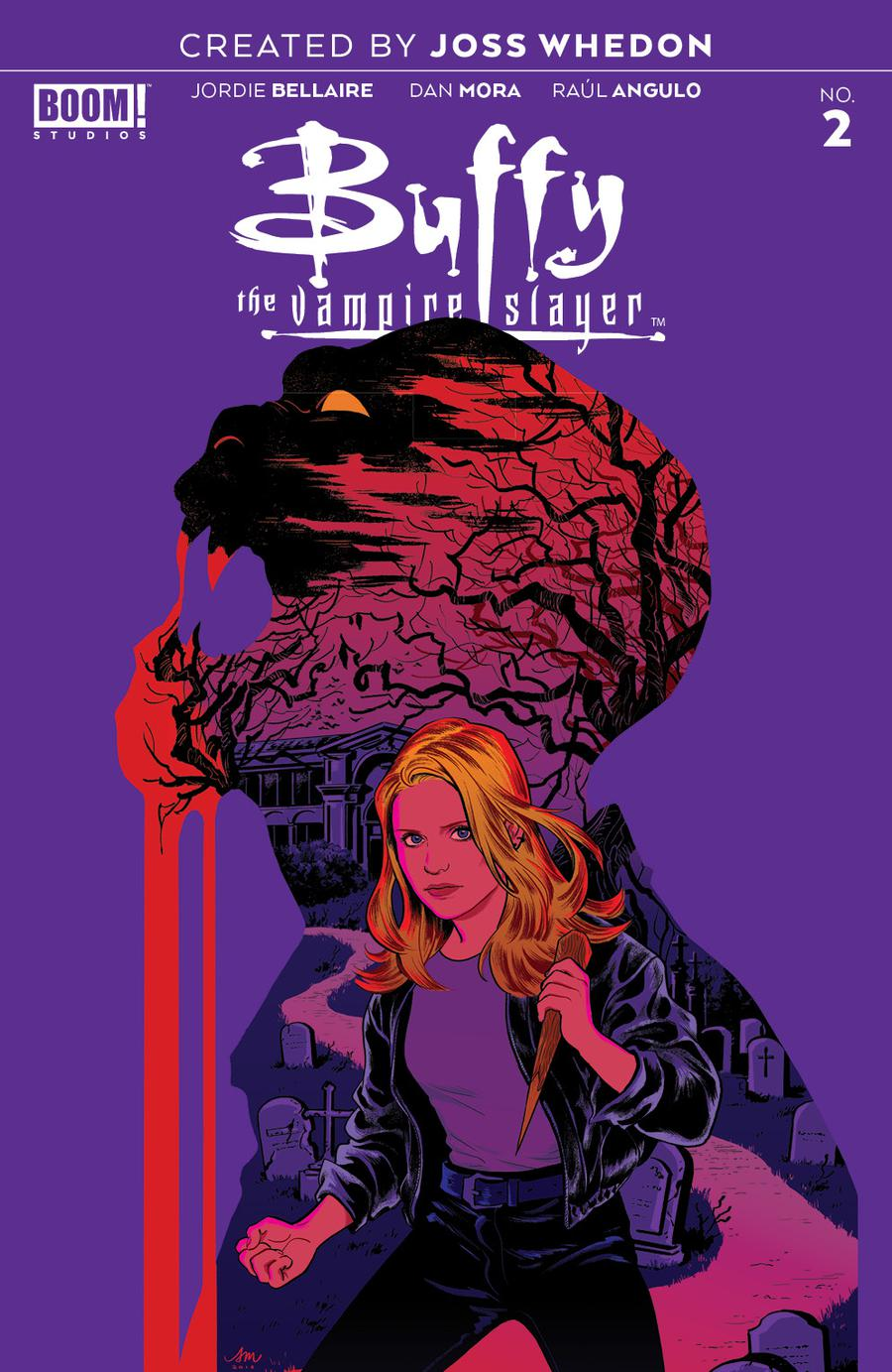 Buffy The Vampire Slayer Vol 2 #2 Cover G Incentive Audrey Mok Color Variant Cover