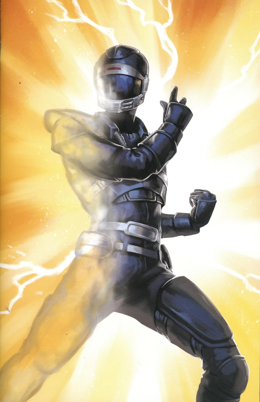 Mighty Morphin Power Rangers (BOOM Studios) #36 Cover D Incentive Linda Lithen Virgin Variant Cover