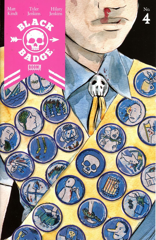 Black Badge #4 Cover A Regular Matt Kindt Cover