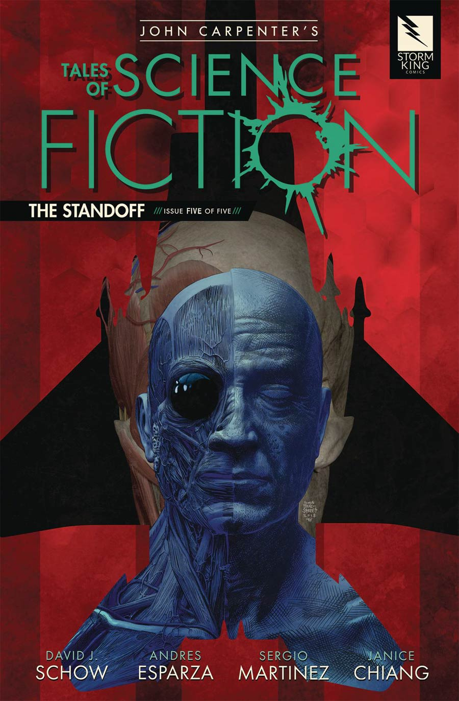 John Carpenters Tales Of Science Fiction Standoff #5 Cover B