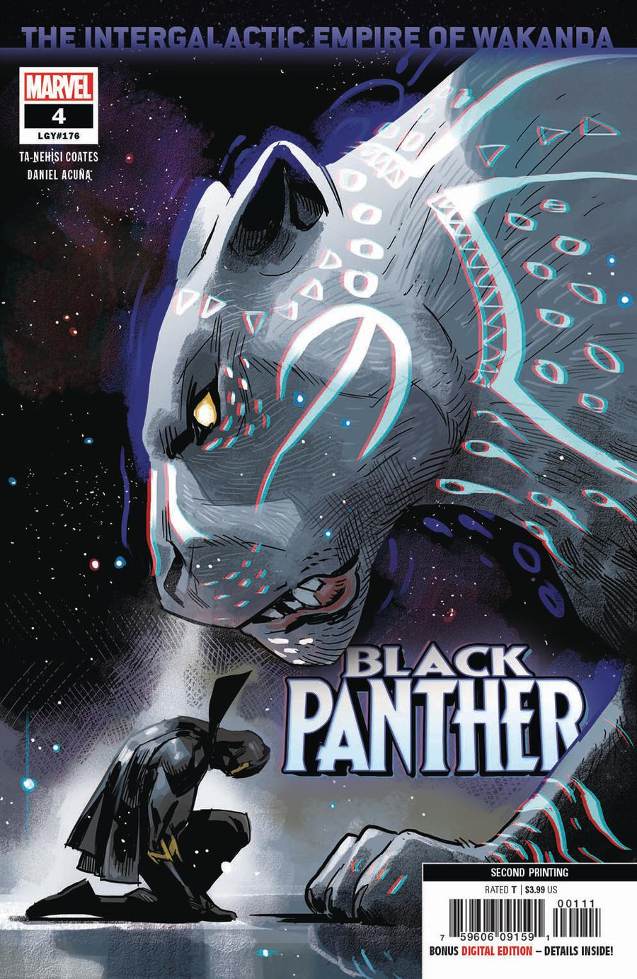 Black Panther Vol 7 #4 Cover C 2nd Ptg Variant Daniel Acuna Cover