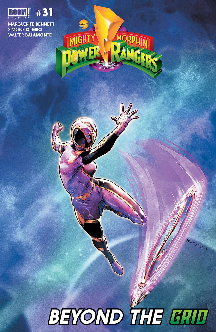 Mighty Morphin Power Rangers (BOOM Studios) #31 Cover E 2nd Ptg Variant Jamal Campbell Cover