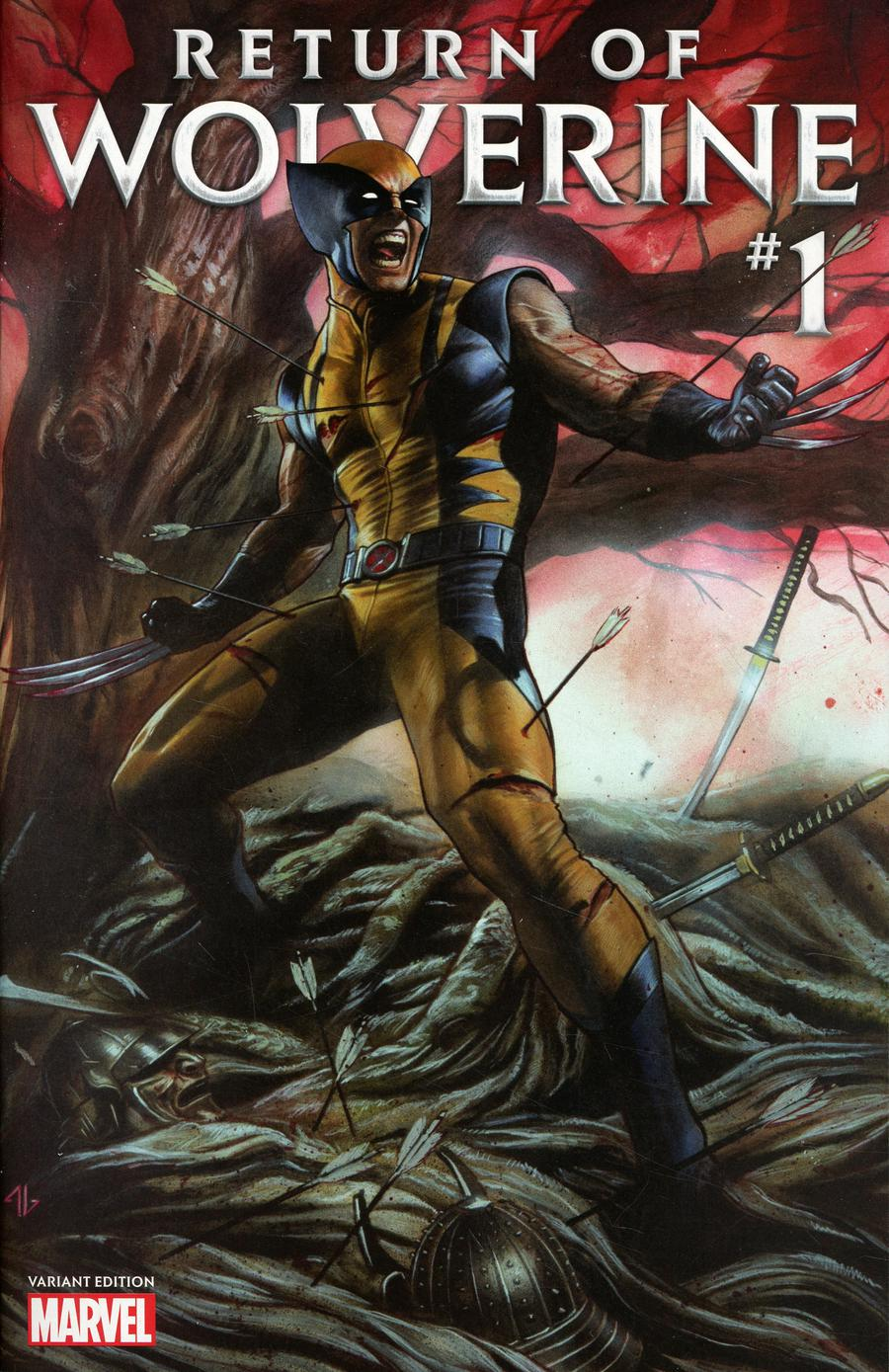 Return Of Wolverine #1 Cover Z-I Adi Granov Convention Exclusive Variant Cover