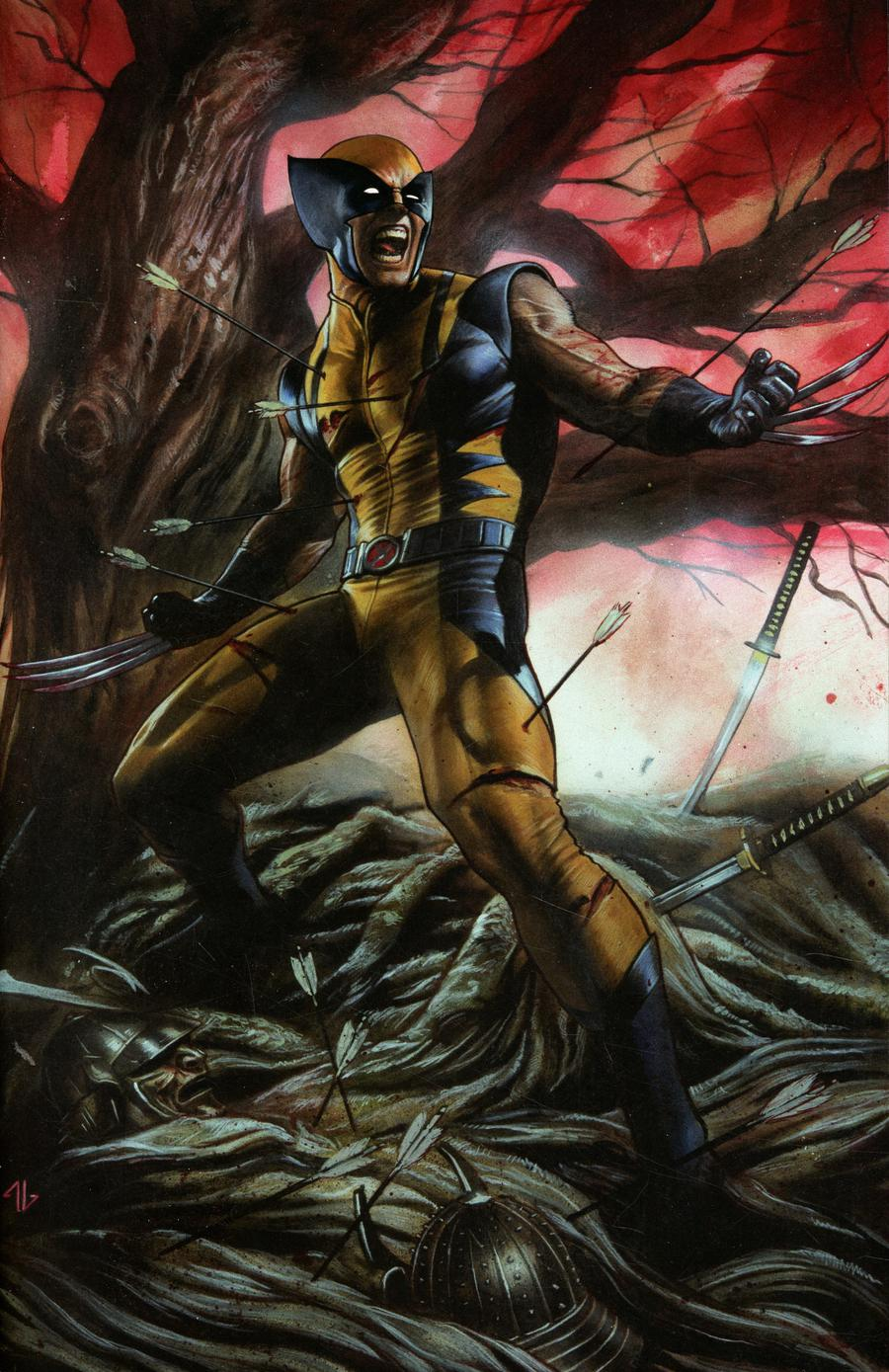Return Of Wolverine #1 Cover Z-J Adi Granov Convention Exclusive Virgin Variant Cover