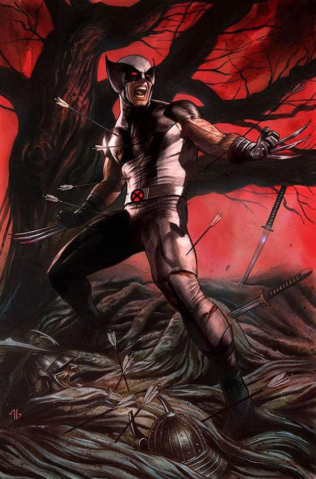 Return Of Wolverine #1 Cover Z-M Adi Granov Convention Exclusive X-Force Costume Variant Cover