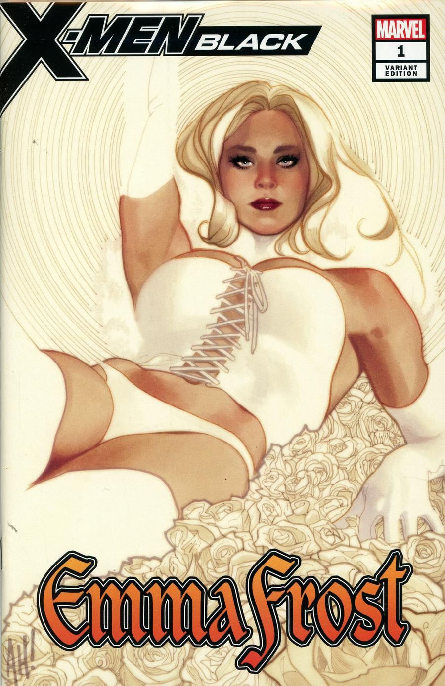 X-Men Black Emma Frost #1 Cover F Adam Hughes Convention Exclusive Variant Cover