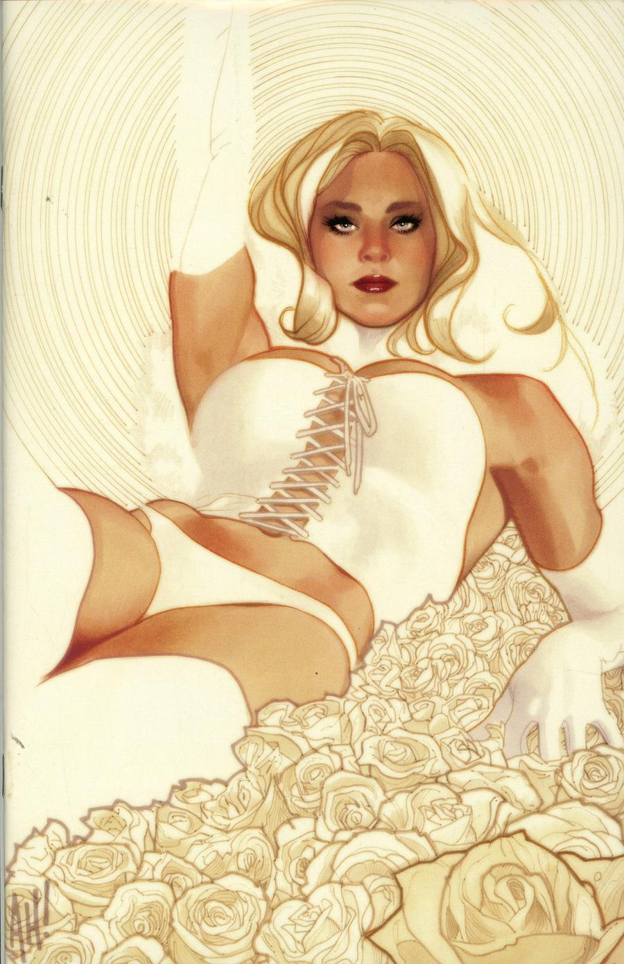 X-Men Black Emma Frost #1 Cover G Adam Hughes Convention Exclusive Virgin Variant Cover