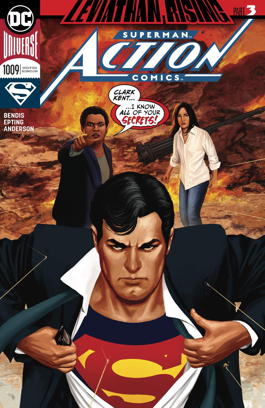 Action Comics Vol 2 #1009 Cover A Regular Steve Epting Cover
