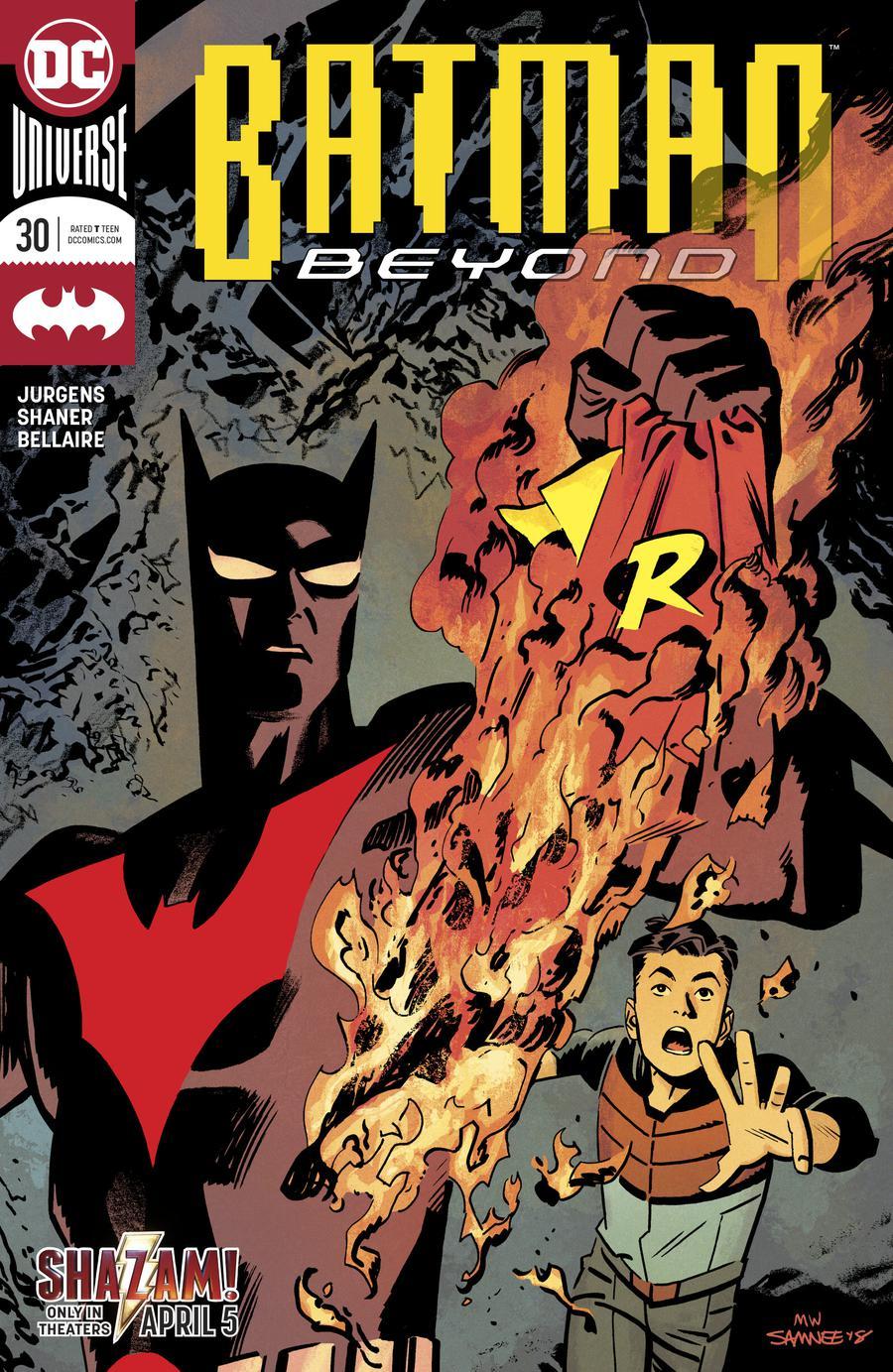 Batman Beyond Vol 6 #30 Cover A Regular Chris Samnee Cover