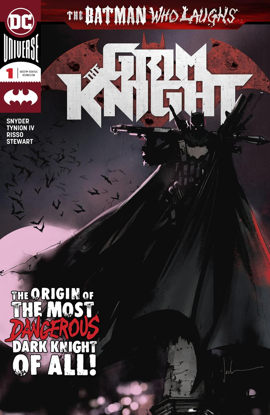 Batman Who Laughs The Grim Knight #1 Cover A Regular Jock Cover