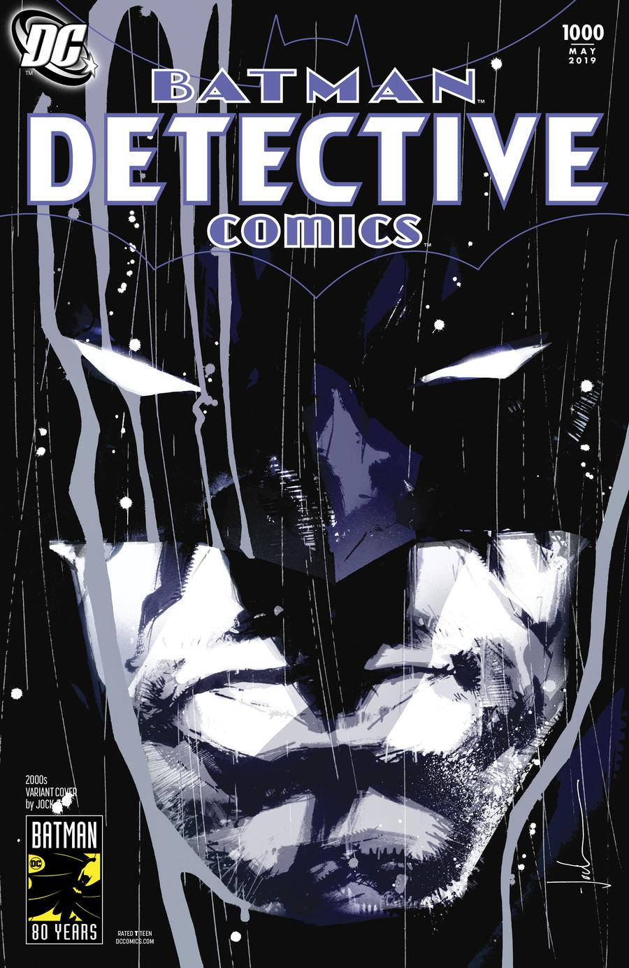 Detective Comics Vol 2 #1000 Cover I Variant Jock 2000s Cover