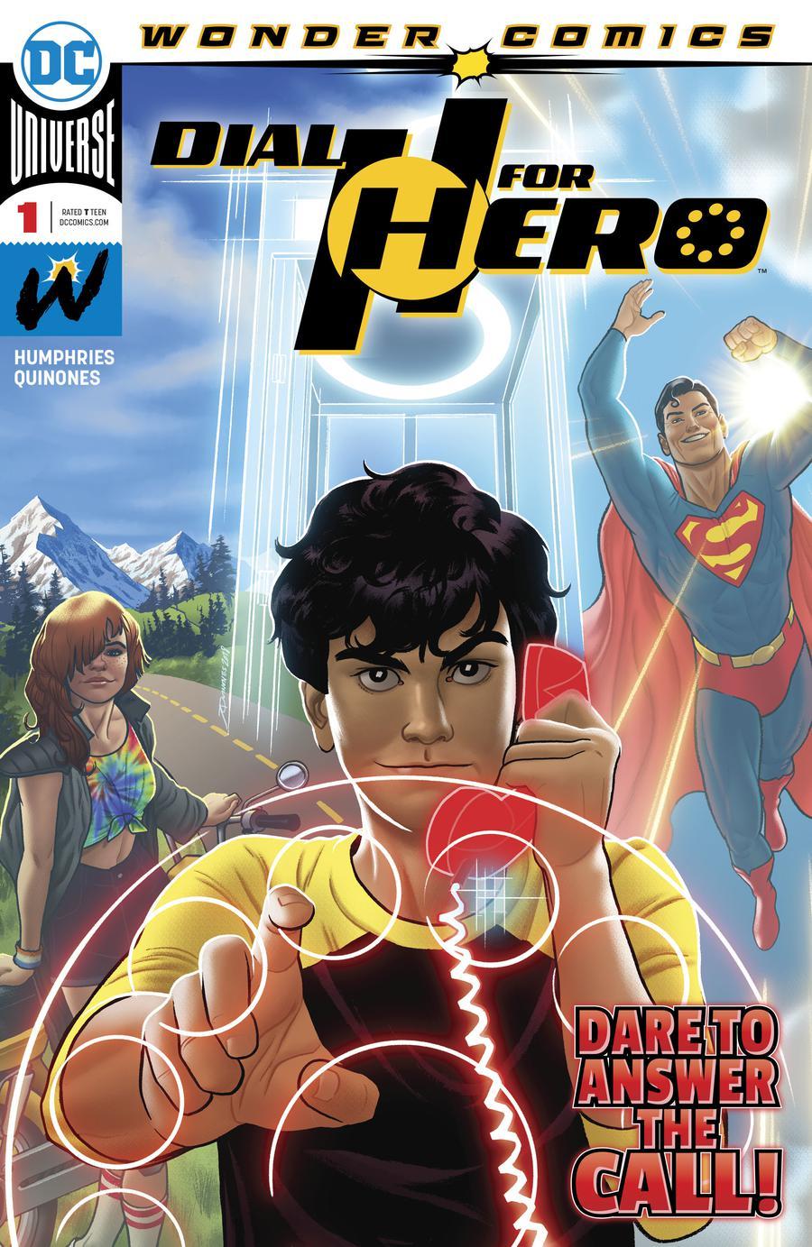Dial H For HERO #1 Cover A Regular Joe Quinones Cover