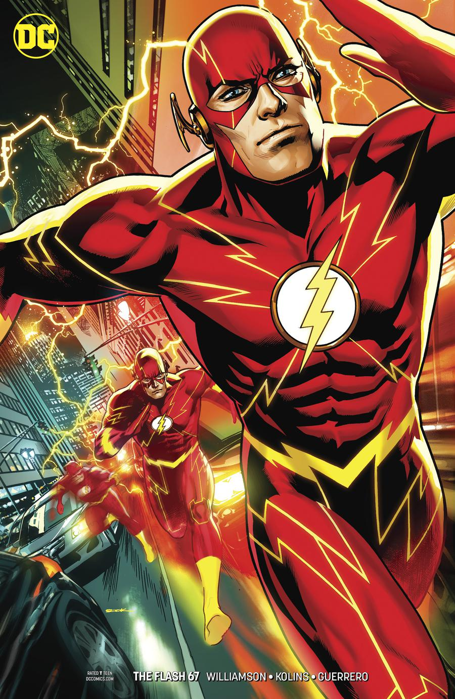 Flash Vol 5 #67 Cover B Variant Ryan Sook Cover