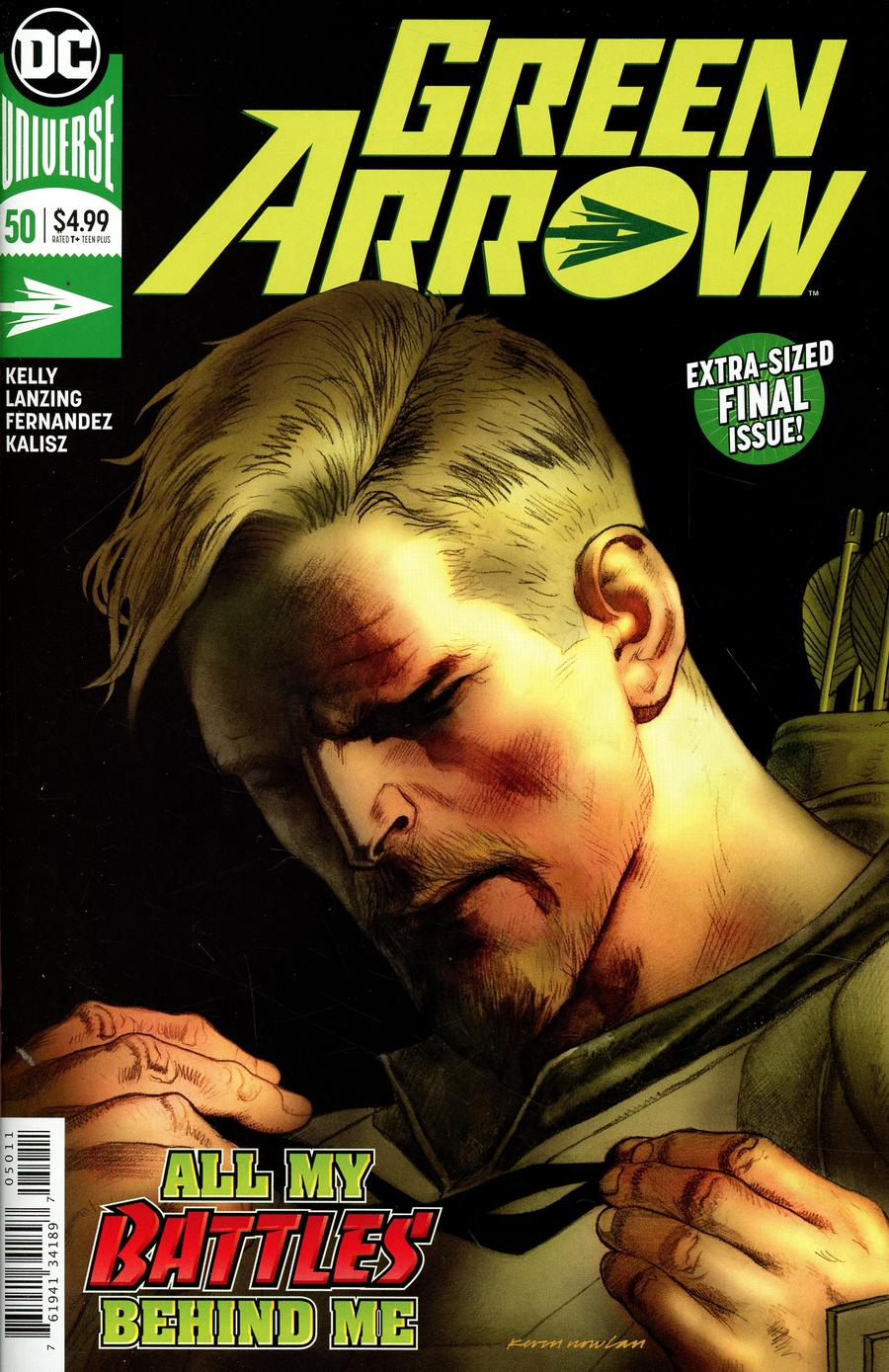 Green Arrow Vol 7 #50 Cover A Regular Kevin Nowlan Cover (Justice League No Justice Tie-In)(Heroes In Crisis Tie-In)
