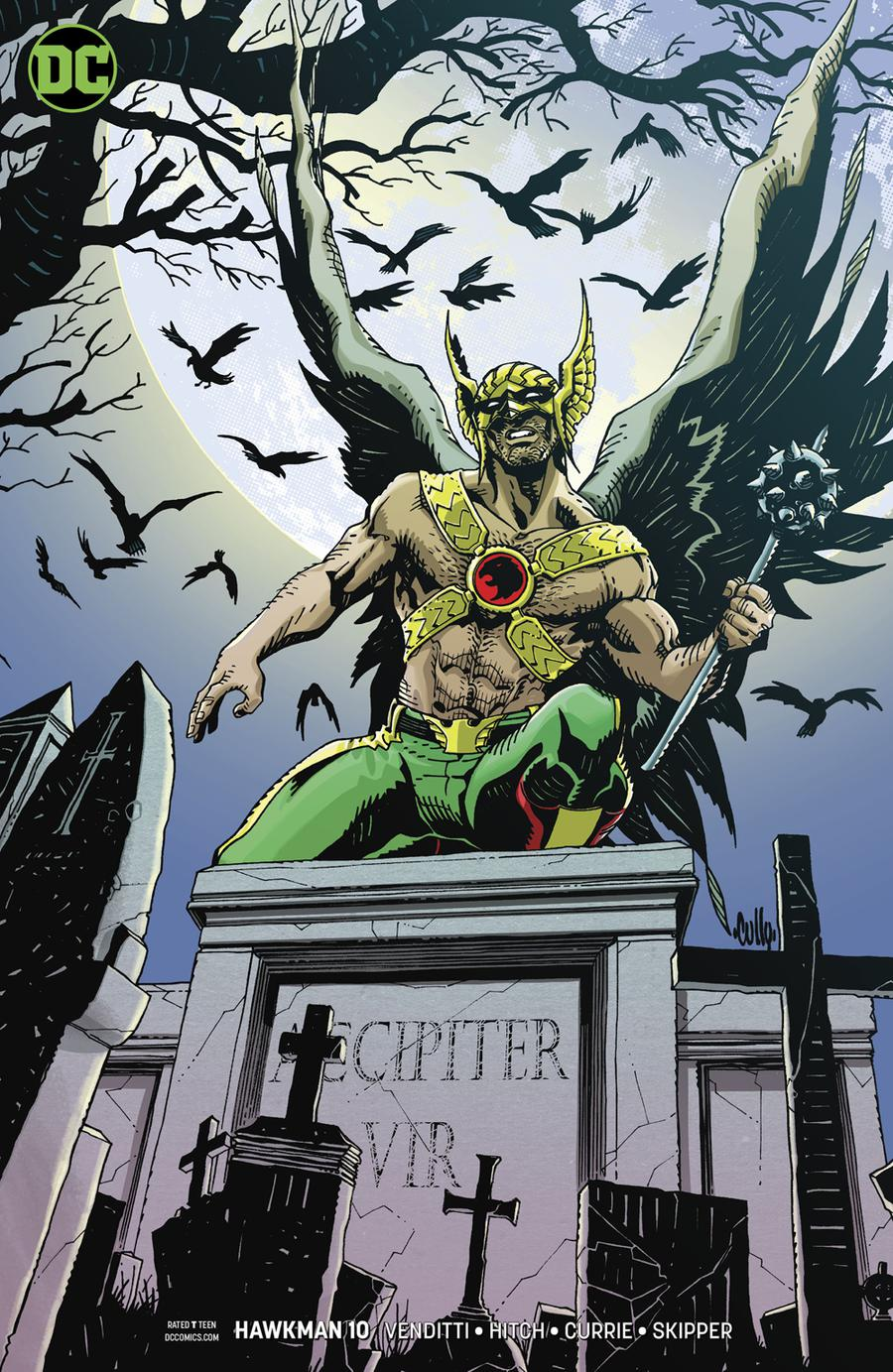 Hawkman Vol 5 #10 Cover B Variant Cully Hamner Cover