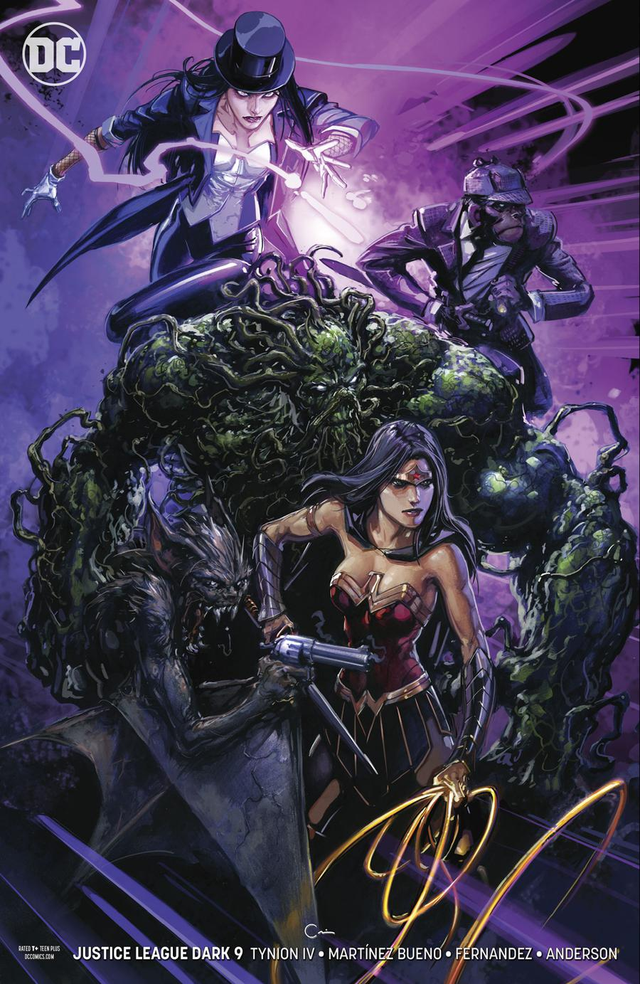 Justice League Dark Vol 2 #9 Cover B Variant Clayton Crain Cover