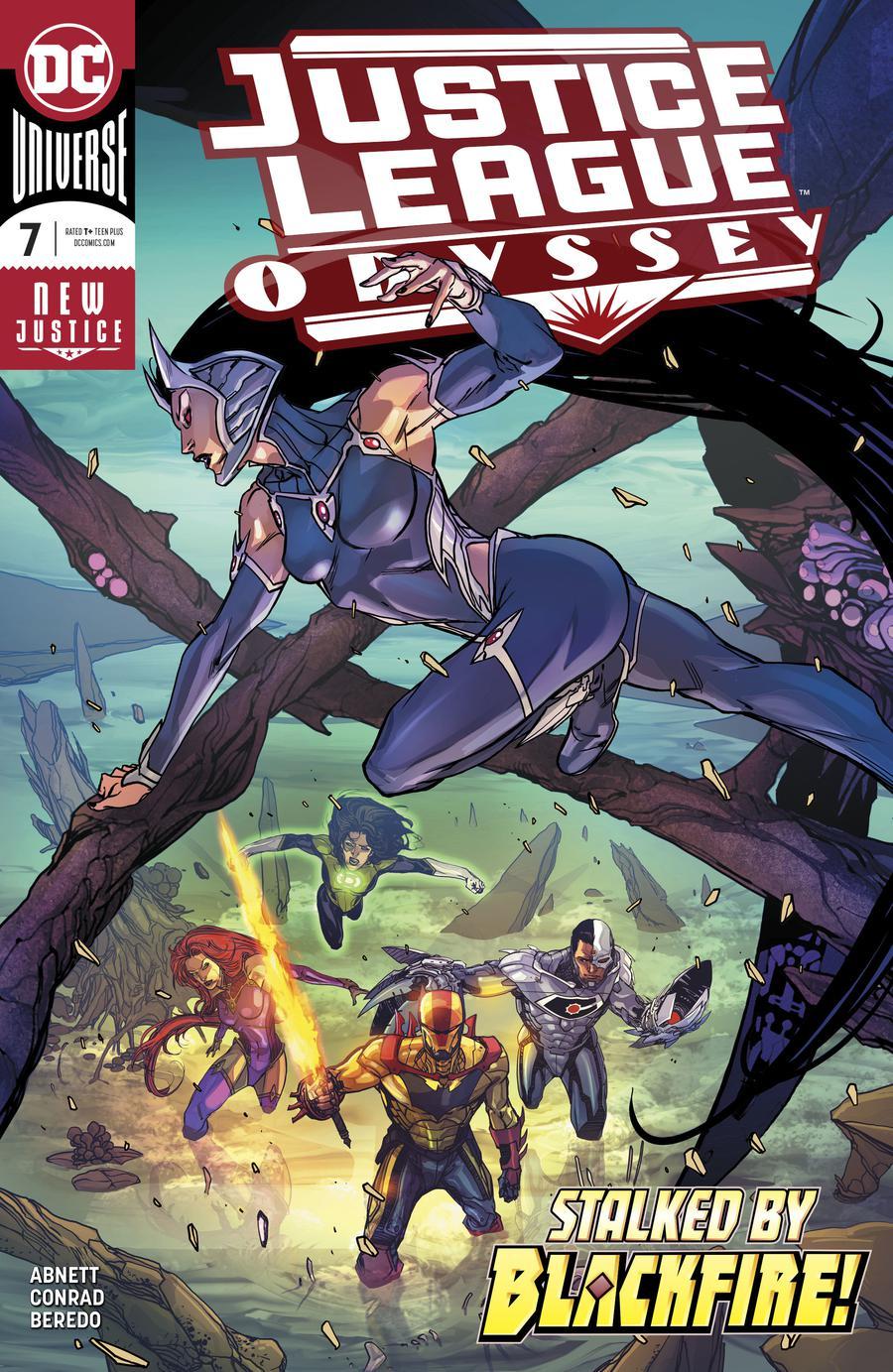 Justice League Odyssey #7 Cover A Regular Carmine Di Giandomenico Cover