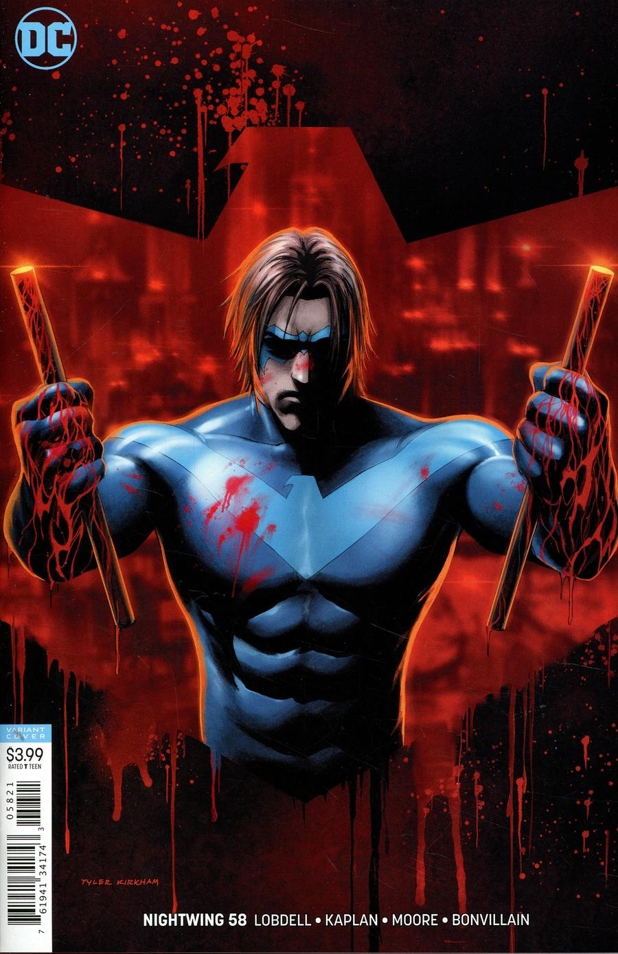 Nightwing Vol 4 #58 Cover B Variant Tyler Kirkham Cover